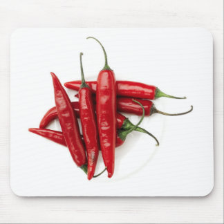 red hot peppers mouse pad