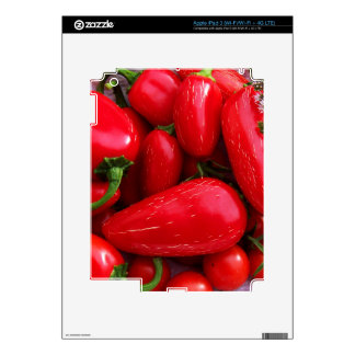 Red Hot Peppers Skins For iPad 3