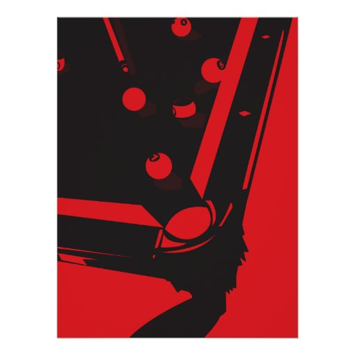 Red Hot Poolhall Poster
