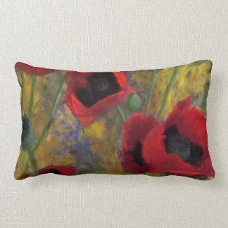 Red Hot Poppy Pillow