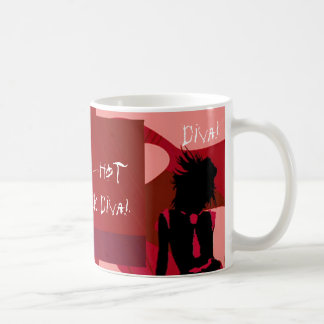 Red Hot Punk Diva I Coffee Mug