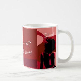 Red Hot Punk Diva I Classic White Coffee Mug