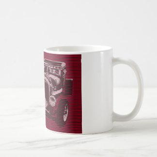 RED HOT RAT COFFEE MUG