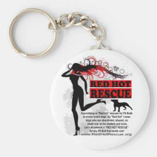 Red Hot Rescue Keychain