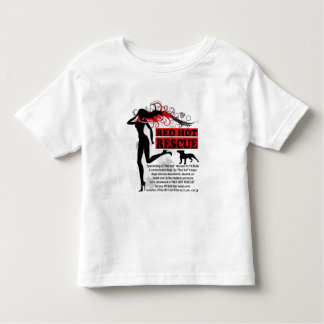 Red Hot Rescue Kids Shirt - Large Logo on Front