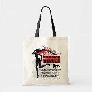 Red Hot Rescue Tote Bag