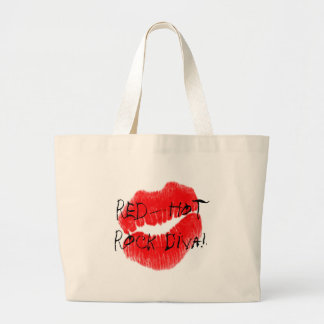Red Hot Rock Diva Lips I Bag