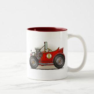 Red Hot Rod Car Mugs