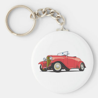 Red Hot Rod Key Chain