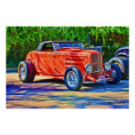 Red Hot Rod - Poster