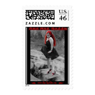 Red Hot Sally Postage stamps