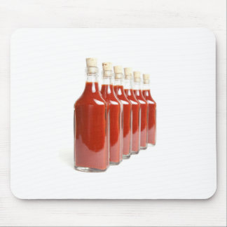 Red hot sauce mouse pad