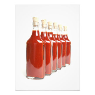 Red hot sauce photo