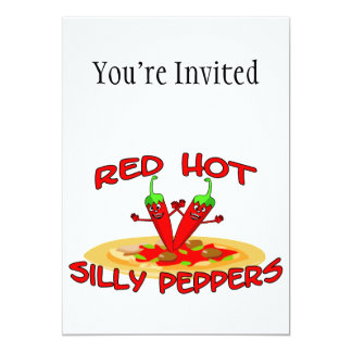 Red Hot Silly Peppers Card