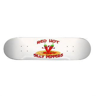 Red Hot Silly Peppers Skateboard Deck