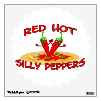 Red Hot Silly Peppers Wall Graphics