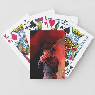 Red Hot Smokin' Fiddler Bicycle Playing Cards
