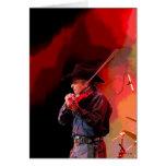 Red Hot Smokin' Fiddler Greeting Card