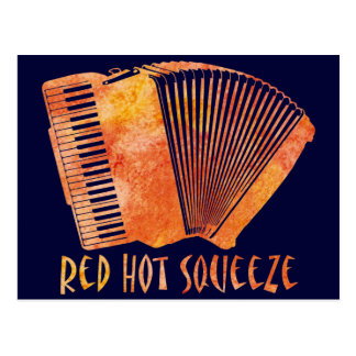 Red Hot Squeeze Postcard