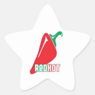 Red Hot Sticker