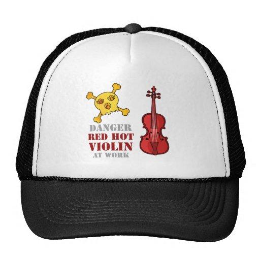 Red Hot Violin Hats