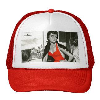 Red Hot Woman Trucker Hat
