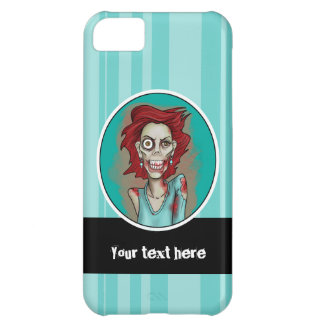 Red Hot Zombie Lady iPhone 5C Case
