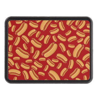Red hotdogs hitch cover