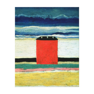 Red House, 1932 Canvas Print
