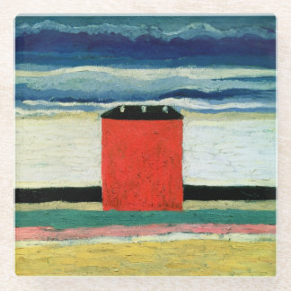 Red House, 1932 Glass Coaster