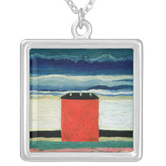 Red House, 1932 Silver Plated Necklace