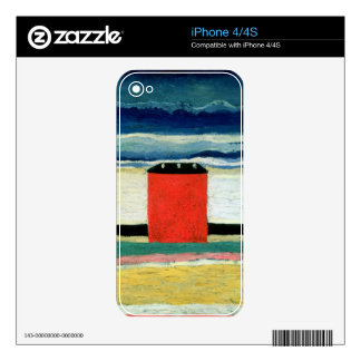 Red House, 1932 Skin For The iPhone 4S