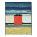 Red House, 1932 Wood Wall Art