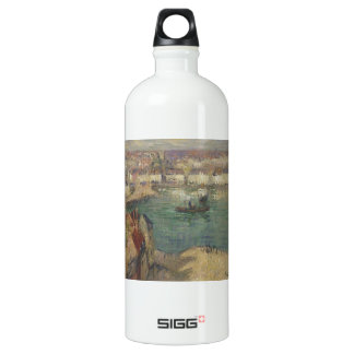 Red House near Port Marly by Gustave Loiseau SIGG Traveler 1.0L Water Bottle