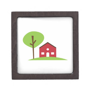 Red House Premium Keepsake Box
