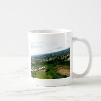 Red Houses Coffee Mug