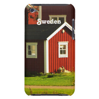 Red Houses in Sweden Barely There iPod Cover