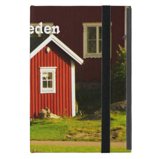 Red Houses in Sweden Case For iPad Mini