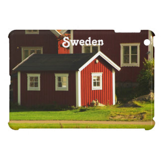 Red Houses in Sweden Case For The iPad Mini