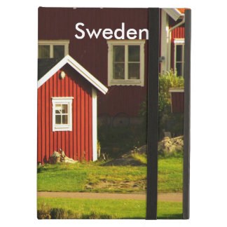 Red Houses in Sweden Cover For iPad Air