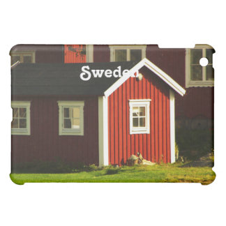 Red Houses in Sweden iPad Mini Cases