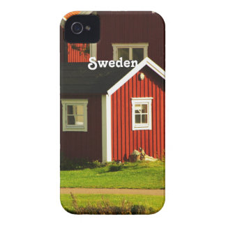 Red Houses in Sweden iPhone 4 Case