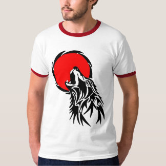 Red Howl! T-shirts
