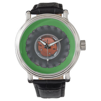 Red Hub Tractor Tire Watch