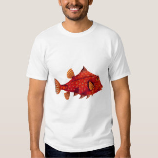 Red Humpback Turretfish Tee Shirt