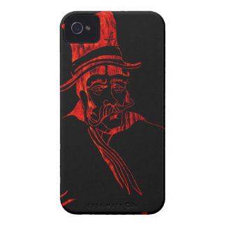 Red Hyde Hat iPhone 4 Case