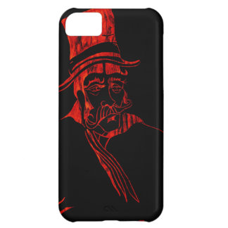 Red Hyde Hat iPhone 5C Cases