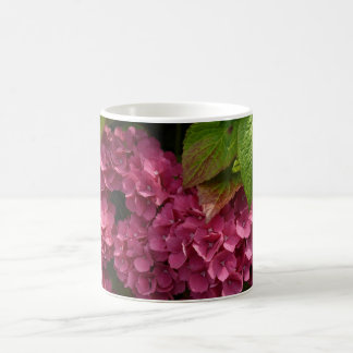 Red Hydrangeas  Flowers Coffee Mug