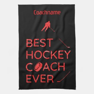 Red ice - Best hockey coach blade towel