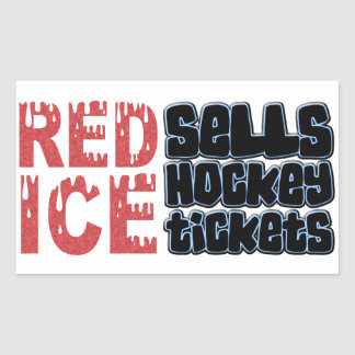 Red Ice Sells Hockey Tickets Stickers